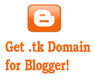 get .tk domain for blogger image