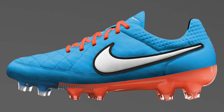 4fd35cf5a A saturated blue is used as the main color for the Nike Tiempo Legend V  2014 Boot, which is designed for excellent touch. The new 14-15 Nike Tiempo  Legend V ...