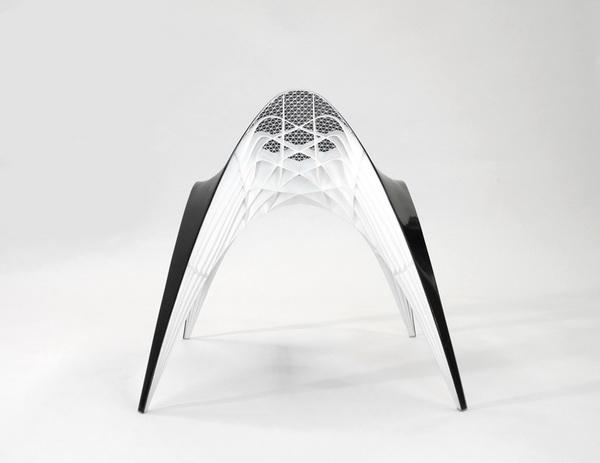 Futuristic chair design