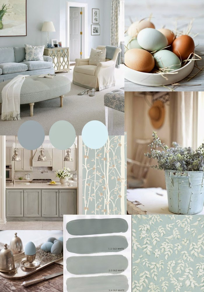 What Colour Scheme Goes With Duck Egg Blue