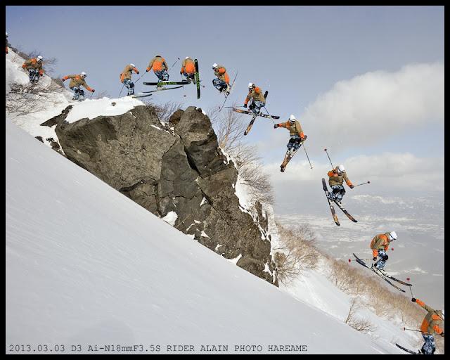 岩手山 スキー SKI ALAIN KAJITA 梶田 アレン 亜連