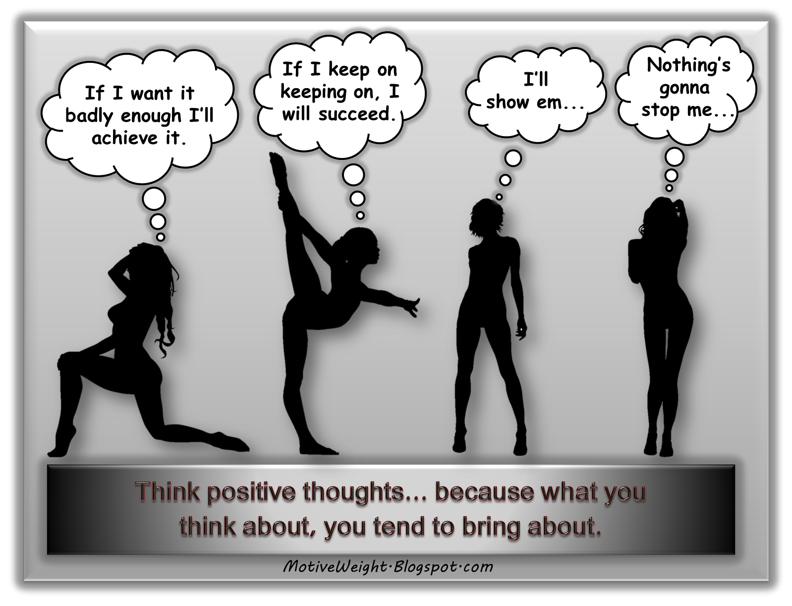 MotiveWeight: Think Positive Thoughts