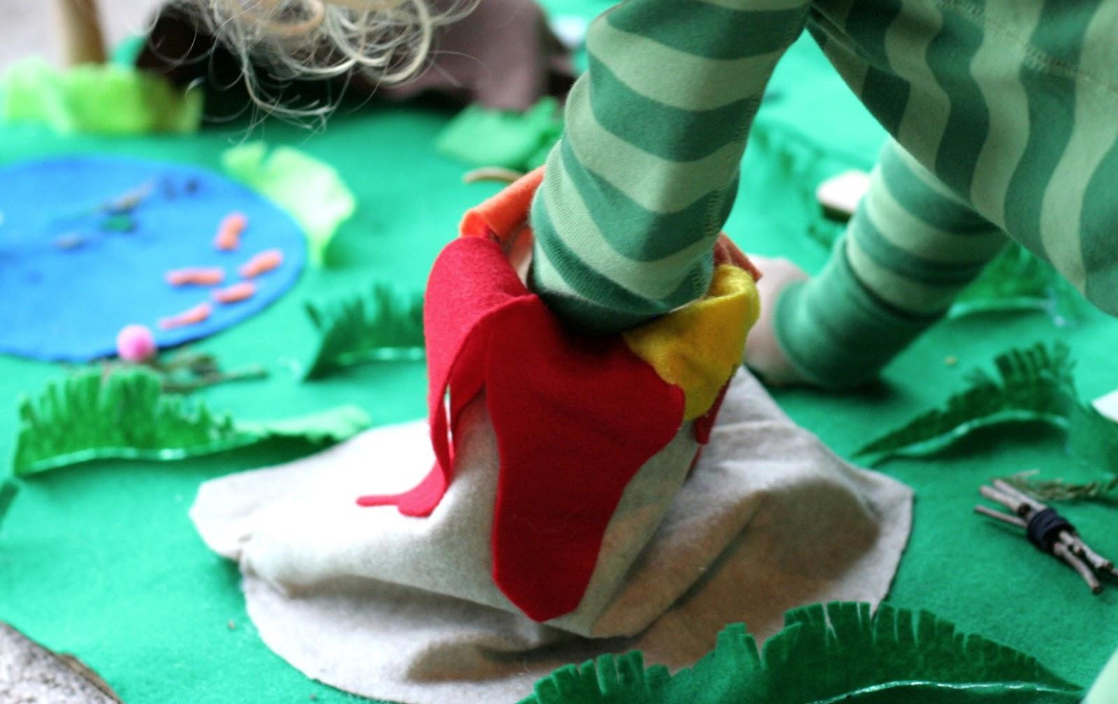 No Sew Dinosaur World Playmat