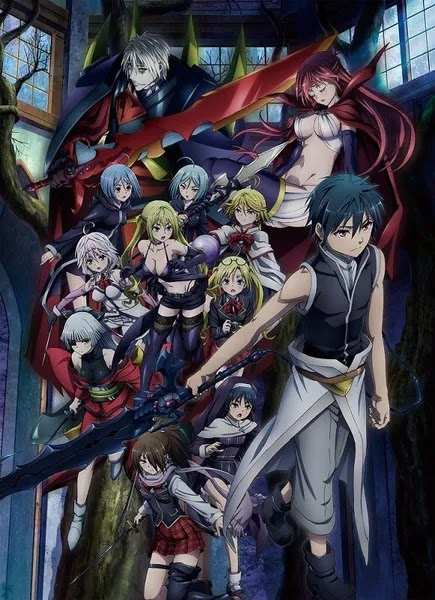 Visual Trinity Seven Tenkuu Toshokan to Shinku no Maou