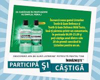 Castiga un set cu produse Listerine pentru un an
