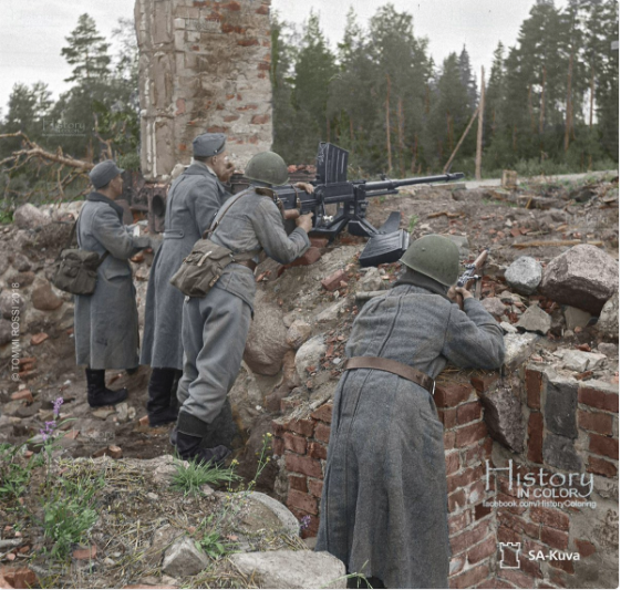 Finnish troops near Viipuri, 25 August 1941 worldwartwo.filminspector.com