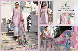 Juvi fashion Teena Durani Pakistani Suits Eid Collection