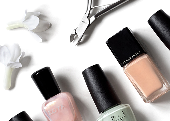 How To Apply Pastel Nail Polish Without Streaky