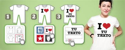 Sólo Pienso En Camisetas  Diseña tus propias camisetas b0115a079799c