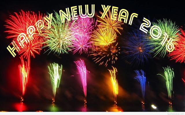 Happy new Year Fireworks 2017