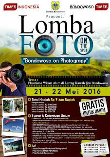 Lomba Fotografi 2016 - Bondowoso