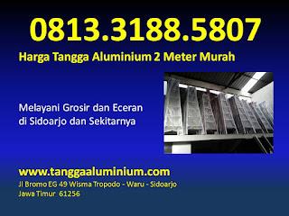 Harga tangga aluminium 2 meter murah