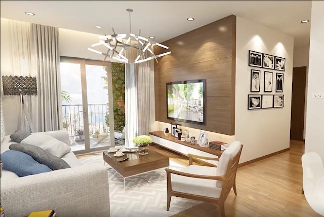 Bên trong căn hộ chung cư Eco Dream City