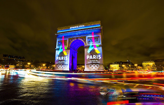 L'arc de triomphe de Paris