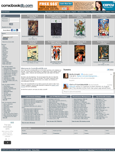 ComicBookDB.com screen shot