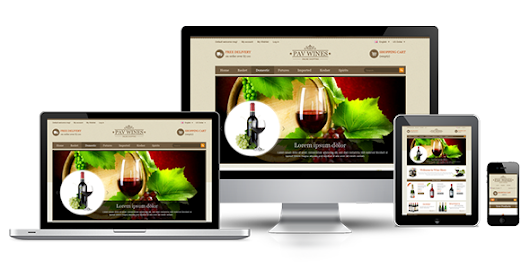 Pav Wines Responsive eCommerce Template for OpenCart : Premium Templates Resources