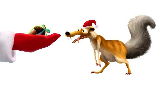download besplatne Božićne pozadine za desktop 1920x1080 HDTV 1080p čestitke blagdani Merry Christmas crtani filmovi Scrat