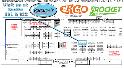 PaddleAir at Booths E21 and E22 of the Boardroom