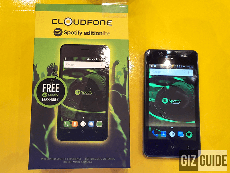 Is the CloudFone Spotify Lite is a good budget music phone