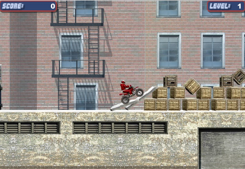 Winter Bike Extreme Play Free Online Fun Game