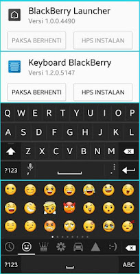 BLACKBERRY KEYBOARD & BLACKBERRY LAUNCHER FOR ANDROID