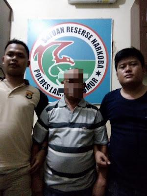 Polres Lampung Timur Tangkap Oknum PNS Kota Metro