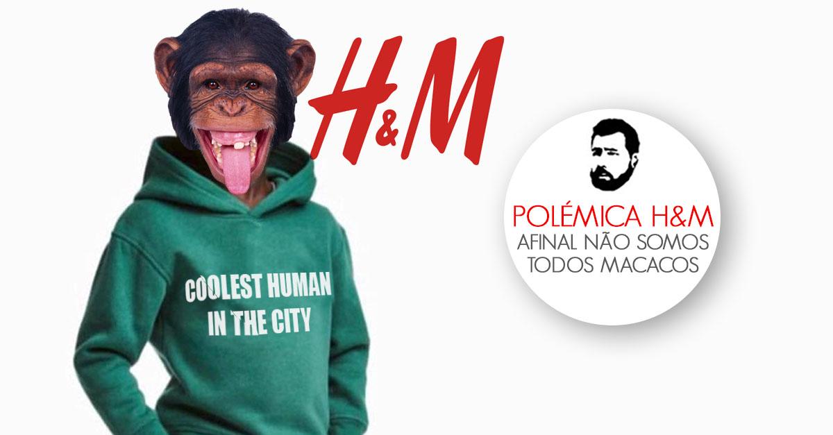 Polmica com a hm afinal no somos todos macacos por falar j todos esto a par da polmica com a hm com uma foto no site de uma camisola a dizer o macaco mais fixe da selva usada por uma criana negra certo stopboris Image collections