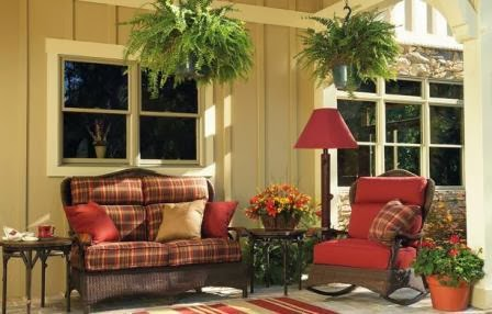 Home Decoration Ideas: Front Porch Decorating Ideas for Spring