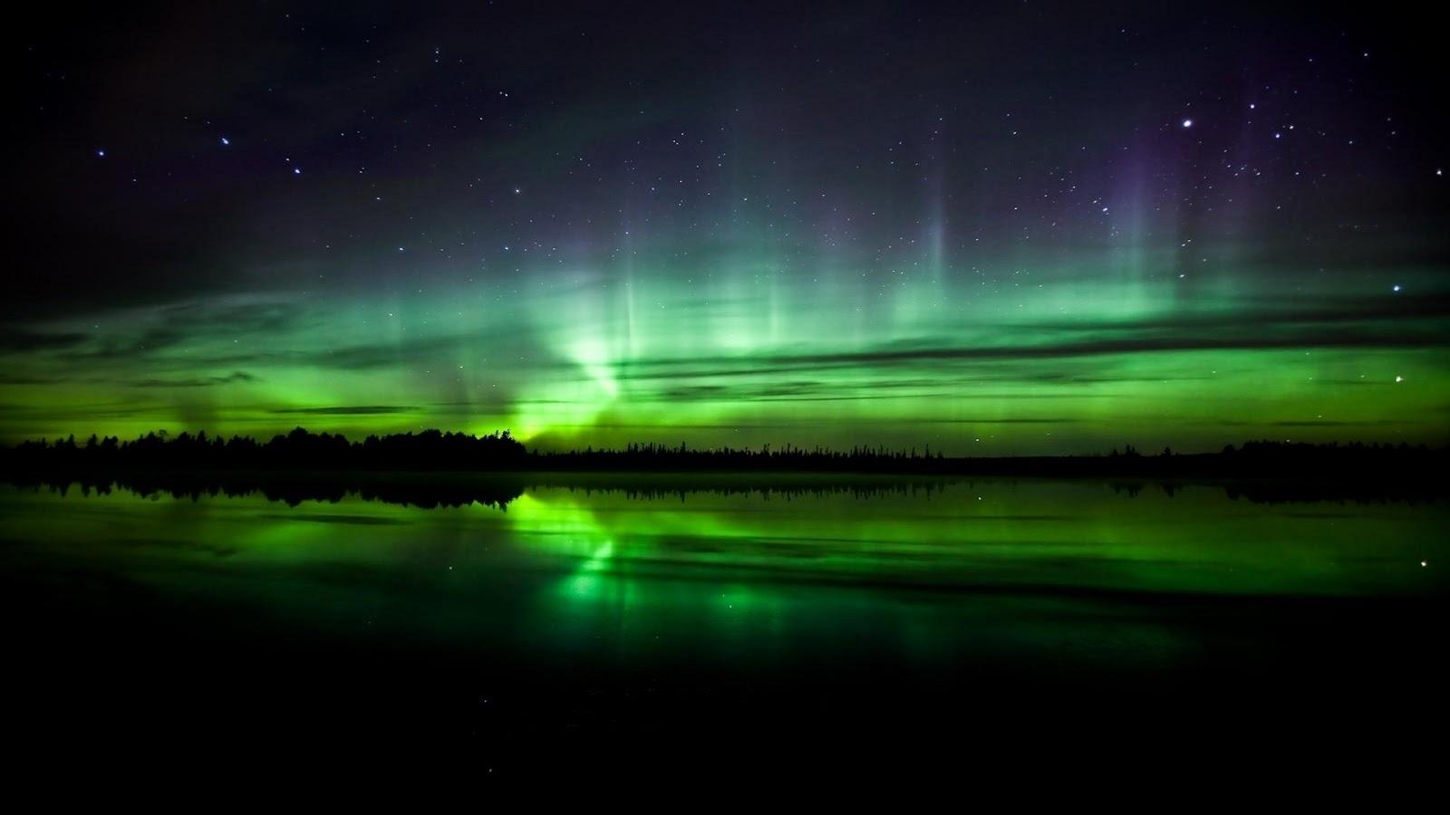 Aurora in Norway 1920 x 1080
