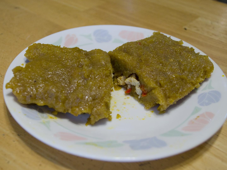 Vegan Family Home Cook Puerto Rican Tofu Pasteles