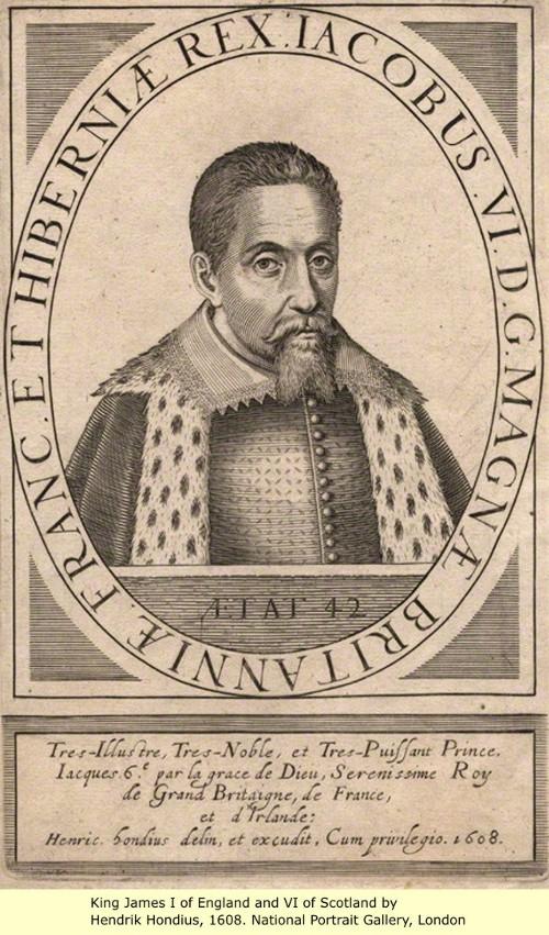 James I and VI (1566 - 1625)