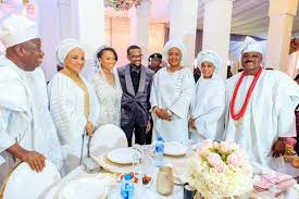 Osinbajo daughter's 'private' wedding
