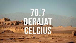 Suhu di Dasht-e Lut Gurun Lut Bisa Mencapai 70,7 Derajat Celcius
