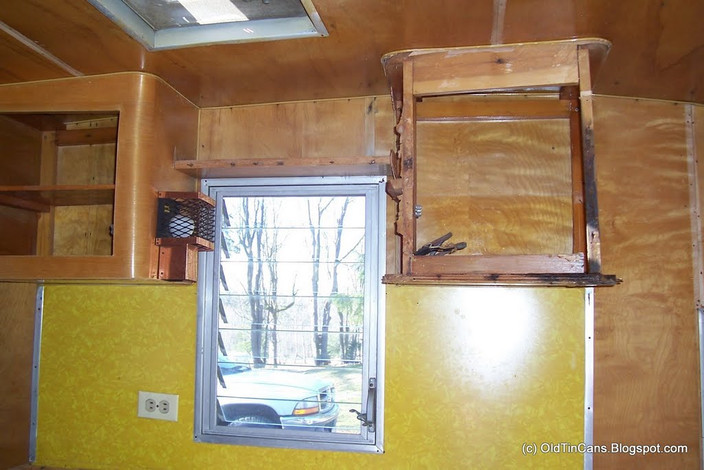 Vintage Travel Trailers Kitchen Cabinet Repair Vintage