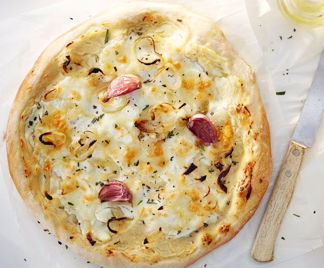 Bianca Pizza Rrecipe