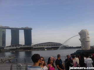 Singapure Part 2 Hari 1 Berkunjung Ke Merlion