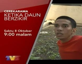 Telemovie Ketika Daun Berzikir - Cerekarama TV3