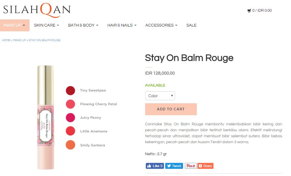 Belanja Kosmetik Online di Silahqan.com