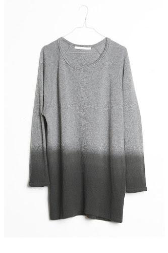 Robe pull laine gris Elsa Esturgie