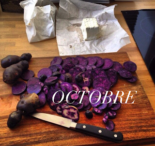 paris local seasonal produce vitelotte october