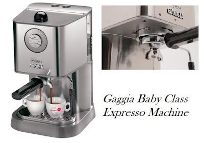 Gaggia Baby Class Expresso Machine