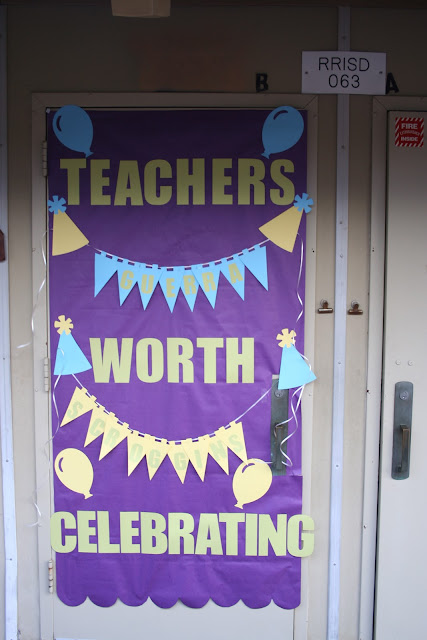 Be Different...Act Normal: Teacher Appreciation Week Door