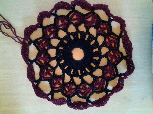 crochet, free crochet pattern, butterfly stitch, doily