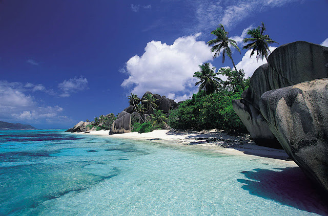 Anse Source D'Argent, La Digue, Seychelles, island, islands, best beach in the world