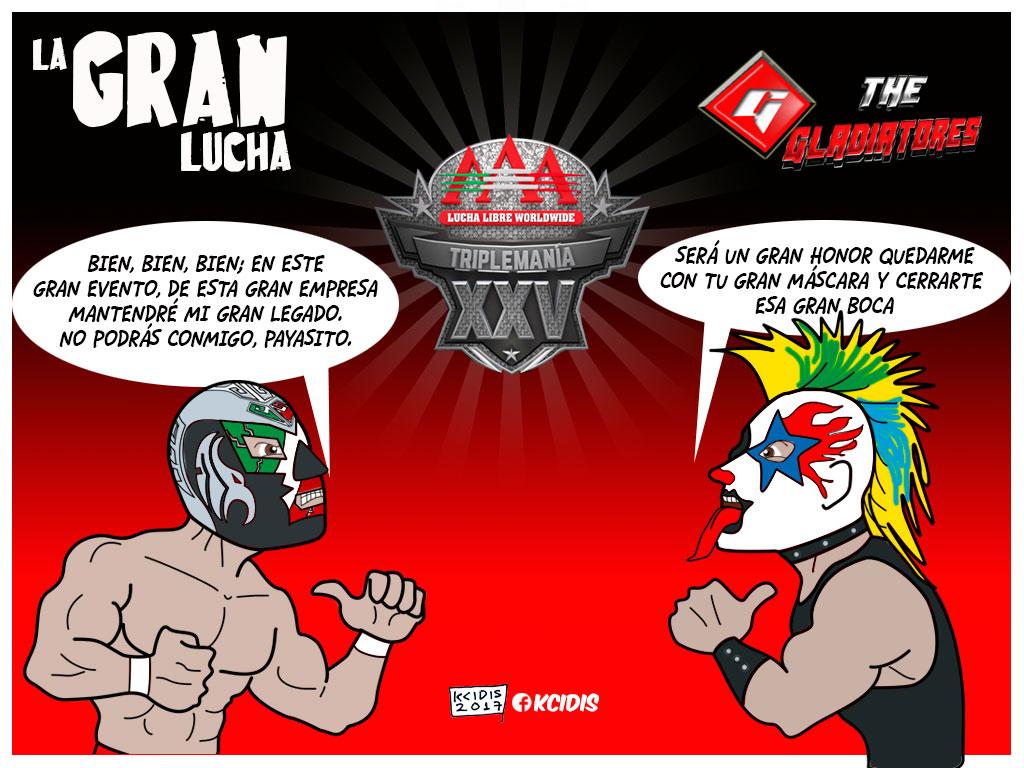 monoluchas de kcidis: Triplemania XXV, Dr. Wagner Jr vs