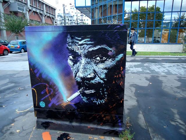 Уличное искусство Кристиана Гуеми (Christian Guémy aka C215) 35