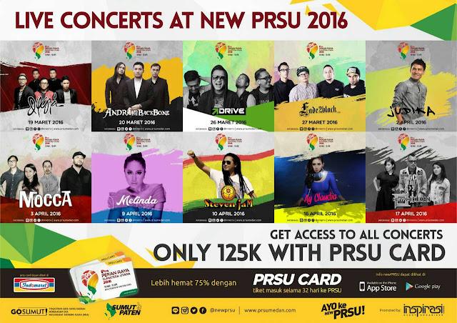 Jadwal Konser Artis di Pekan Raya Sumatera Utara - Pekan Raya Sumatera Utara 2016