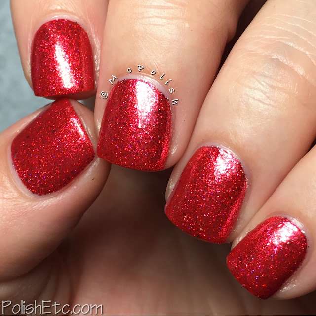 KBShimmer - Birthstone Collection - McPolish - Ruby