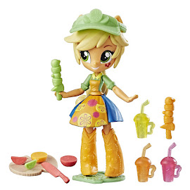 My Little Pony Equestria Girls Minis Mall Collection Fruit Smoothies Shop Applejack Figure