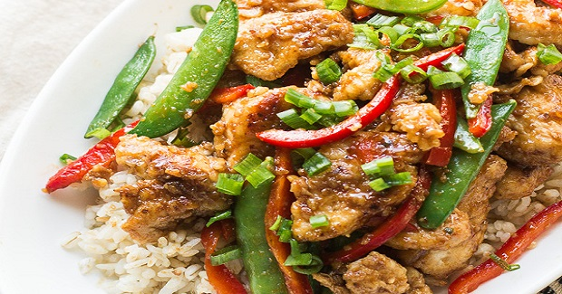 Lightened-Up Mongolian Chicken Recipe